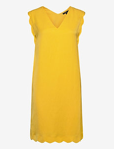 Dresses light woven - korte kjoler - yellow
