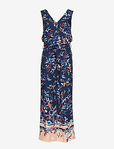 Overalls woven - jumpsuits - navy
