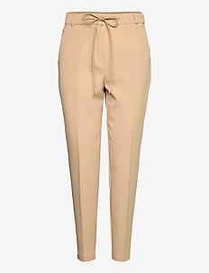 Pants woven - pantalons slim fit - beige