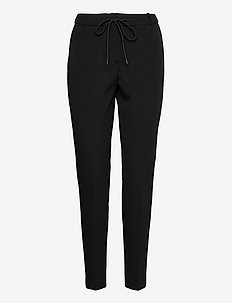 Pants woven - pantalons slim fit - black