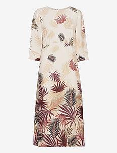 Dresses light woven - midi kjoler - beige 4