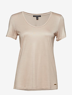 T-Shirts - LIGHT BEIGE 5