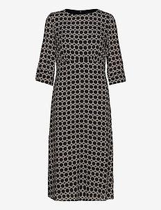 Dresses light woven - midi kjoler - black 3