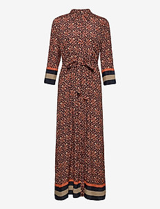 Dresses light woven - skjortekjoler - camel 4