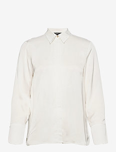 Blouses woven - langermede bluser - off white