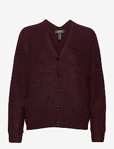 Sweaters cardigan - gilets - bordeaux red 5
