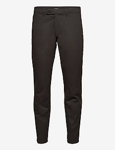 Pants woven - chinos - dark grey