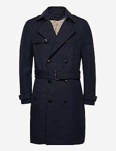 Coats woven - trench coats - navy
