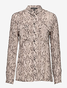 Blouses woven - TAUPE