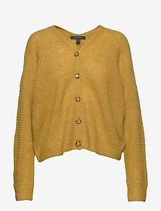Sweaters cardigan - AMBER YELLOW 5