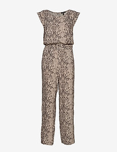 Overalls woven - TAUPE