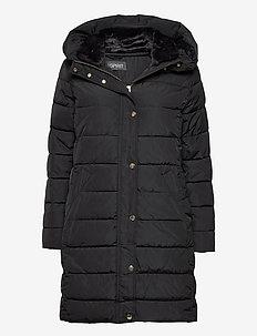 Coats woven - toppatakit - black