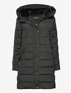 Coats woven - manteaux d'hiver - dark teal green