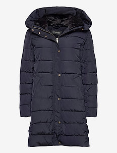 Coats woven - dynefrakke - navy