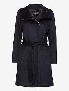 Coats woven - villakangastakit - navy