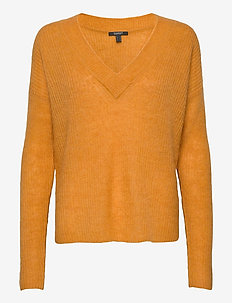 Sweaters - jumpers - honey yellow 5