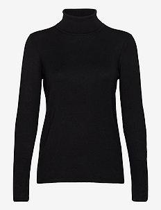 Sweaters - rollkragenpullover - black