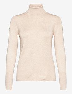 Sweaters - turtlenecks - sand 5