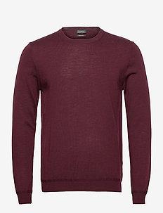 Sweaters - tricots basiques - bordeaux red 5