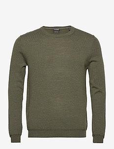 Sweaters - truien - khaki green 5