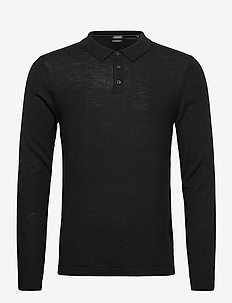 Sweaters - long-sleeved polos - black