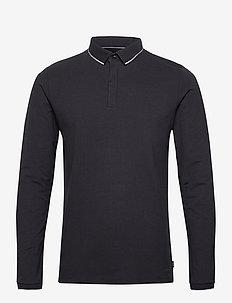 Polo shirts - long-sleeved polos - black