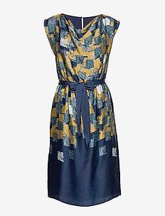 Dresses light woven - AMBER YELLOW