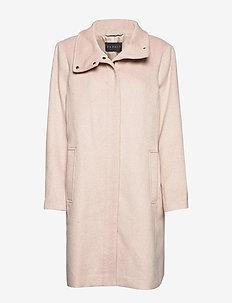 Coats woven - villakangastakit - dusty nude 5