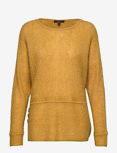 Sweaters - AMBER YELLOW 5