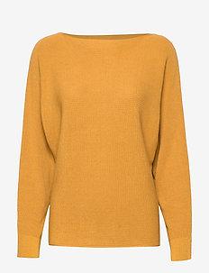Sweaters - AMBER YELLOW