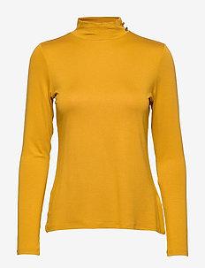 T-Shirts - AMBER YELLOW