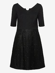 Dresses woven - korta klänningar - black