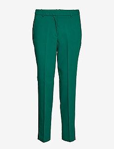 Pants woven - straight leg trousers - bottle green