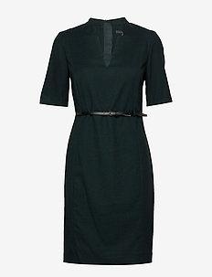 Dresses woven - midi kjoler - dark teal green