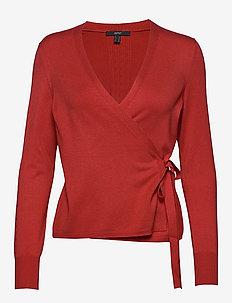 Sweaters cardigan - gilets - terracotta