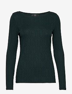 T-Shirts - langærmede toppe - dark teal green