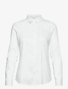 Blouses woven - långärmade skjortor - white
