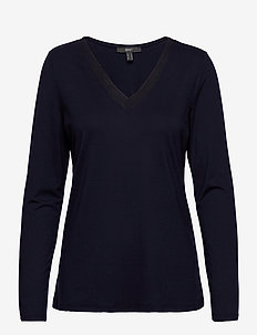 T-Shirts - long-sleeved tops - navy