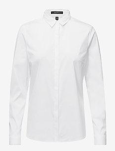 Blouses woven - chemises à manches longues - white