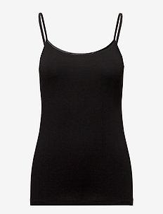T-Shirts - sleeveless tops - black