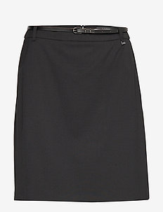 Skirts woven - jupes midi - black