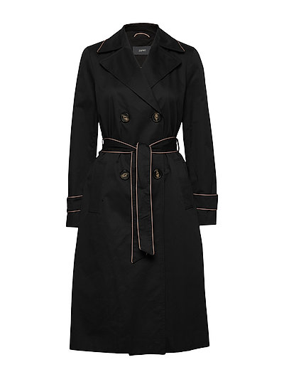 Coats Woven Trenchcoat Mantel Schwarz ESPRIT COLLECTION | ESPRIT SALE