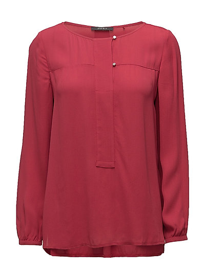 Blouses woven - BERRY RED