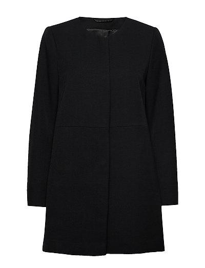 Coats Woven Dünner Mantel Schwarz ESPRIT COLLECTION