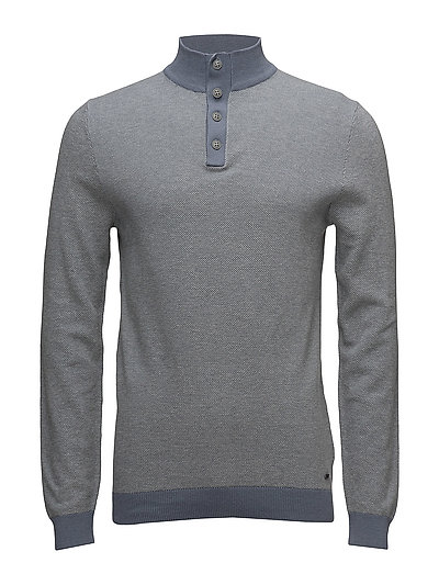 Sweaters - GREY BLUE
