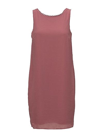 Dresses light woven - DARK OLD PINK