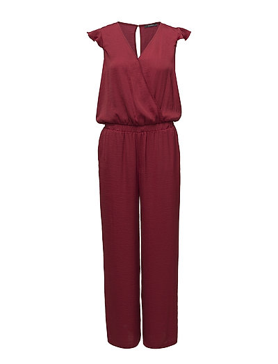 Overalls woven - DARK RED