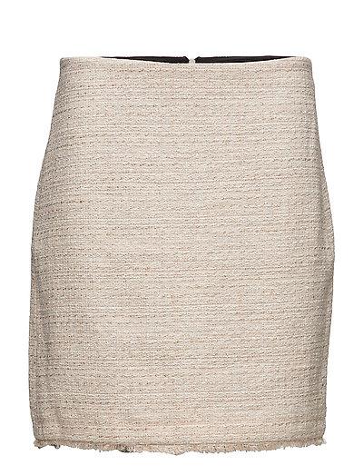 Skirts woven - NUDE