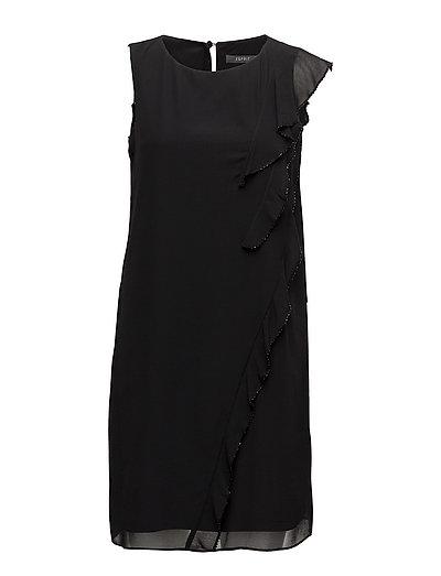 Dresses light woven - BLACK