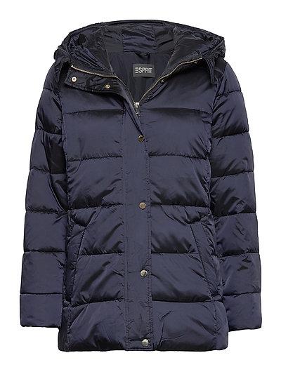 Jackets Outdoor Woven Gefütterte Jacke Blau ESPRIT COLLECTION | ESPRIT SALE